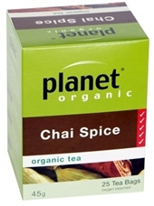 Chai Spice Tea Bags - Click to enlarge picture.